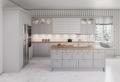 La cuisine blanche et grise dans toute sa splendeur : nos 100 modèles coup de coeur