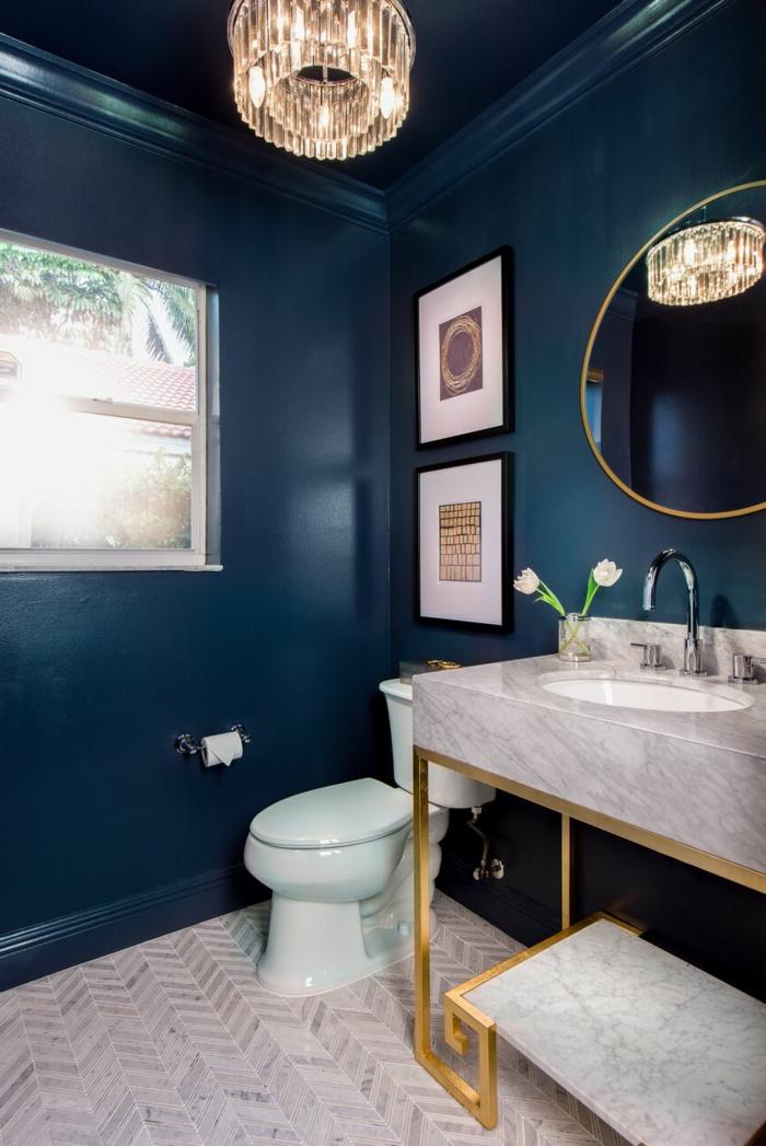 Dark Bathroom Paint Colors
