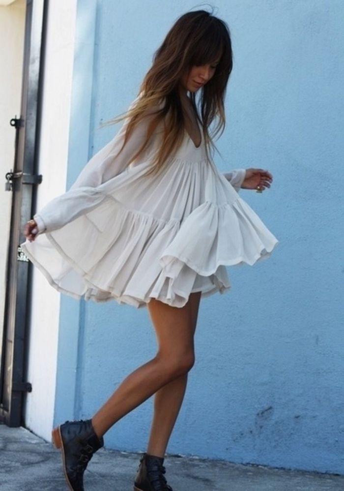 d8ac4356522 Robe bohème chic en dentelle – les meilleures idées pour les femmes ...