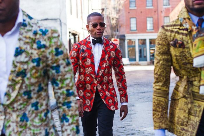 vestes colorées, mode style africain, vêtements africains modernes, lunettes de soleil