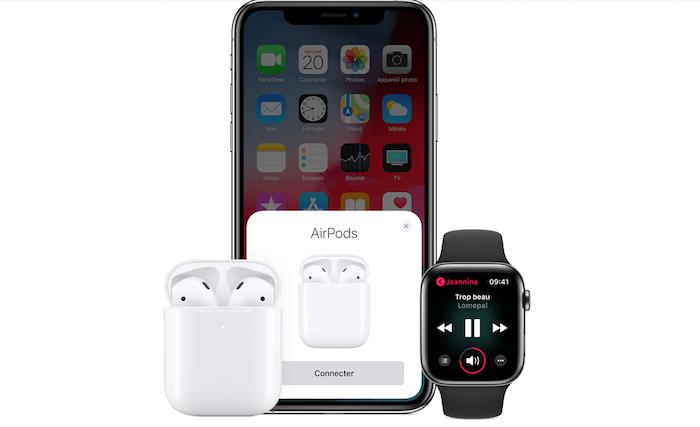 Les nouveaux AirPods Apple disposent d'une meilleure connexion et autonomie que la première génération