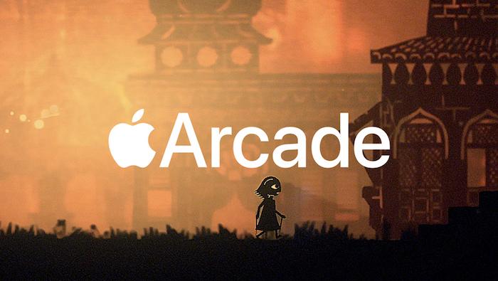 Illustration du nouveau service de jeux vidéos par abonnement proposé par Apple et présenté lors de la Apple Keynote 2019