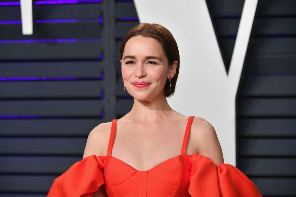 photo d'Emilia Clarke en 2019 qui vient de révélé avoir été victime de deux attaques cérébrales en 2011 et 2013