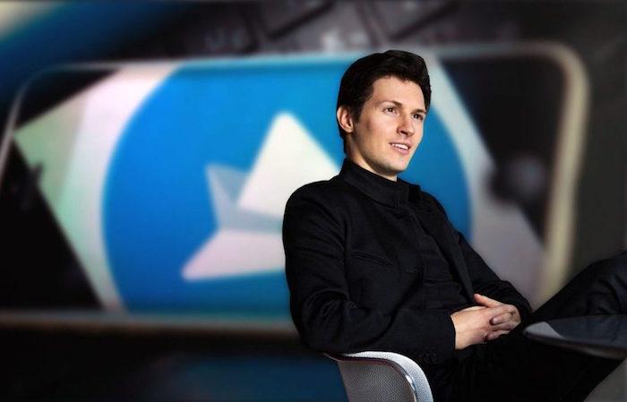 photo de Pavel Durov fondateur et PDG ruses de la messagerie cryptée Telegram avec mise à jour 5.5 et nouvelle option pour effacer les messages et chats