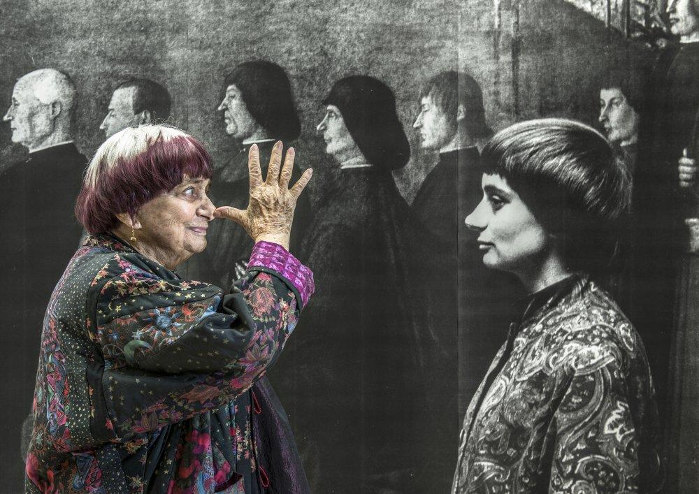Photo de La réalisatrice Agnès Varda pionnière de la nouvelle vagues des années 60 décédée à l'âge de 90 ans