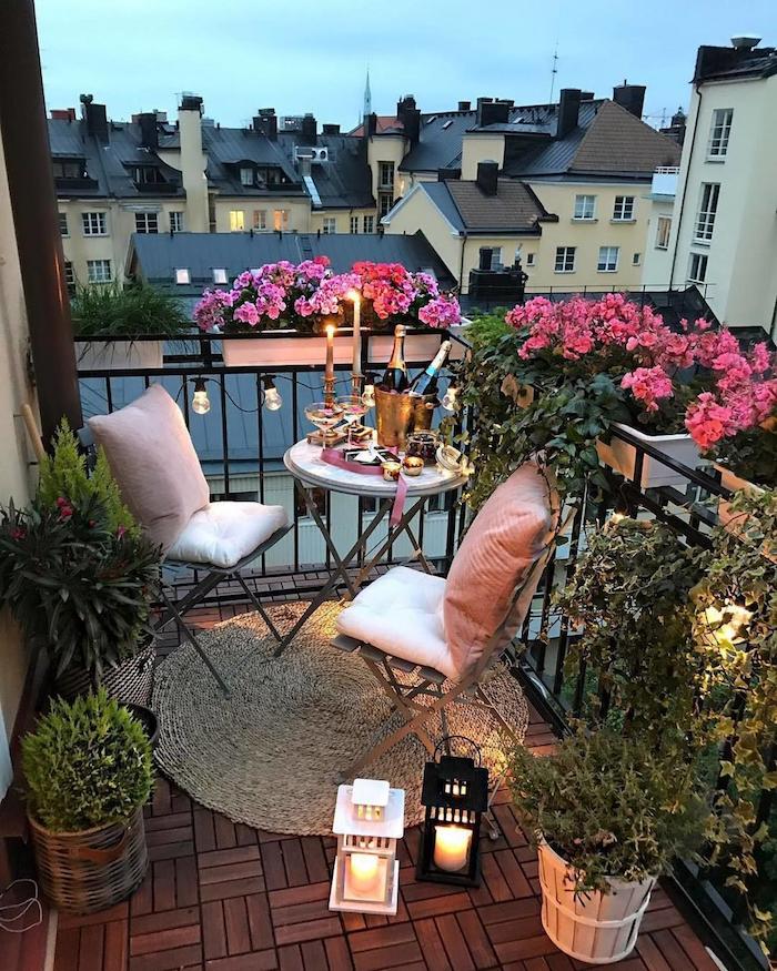 ▷ 1001 + astuces et idées géniales pour votre déco balcon