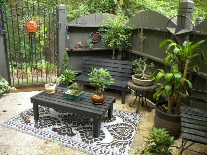1001 Mod 232 Les De Table De Jardin En Palette 224 Faire Soi M 234 Me