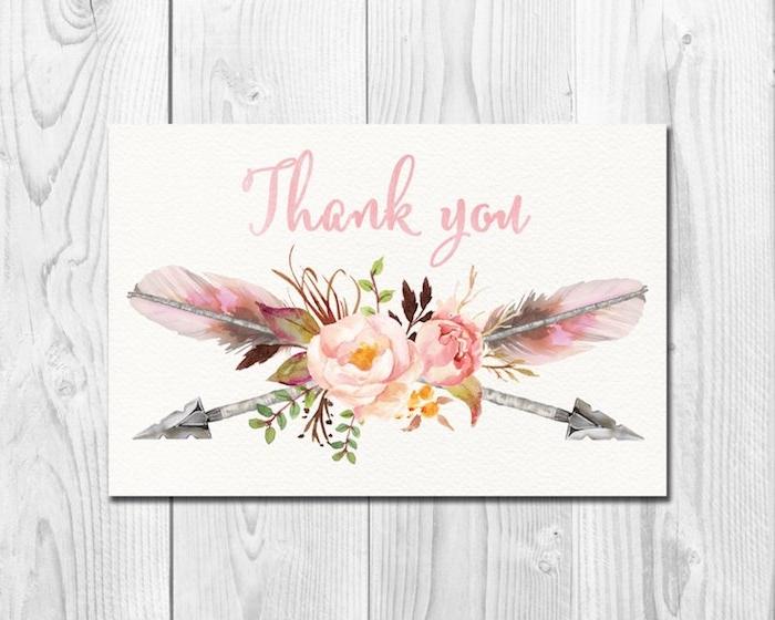 Magnifique carte remerciant bouquet de fleurs dessin de rose les plus beaux dessins du monde