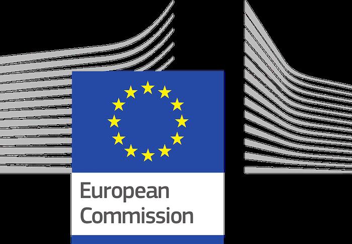 logo commission européenne pour plainte de spotify contre apple pour pratique antitrust