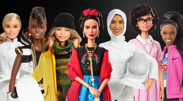 La diversité du monde célébré par la marque Barbie, poupées inspiratrices