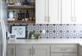 Relookez la cuisine avec une crédence en carreaux de ciment