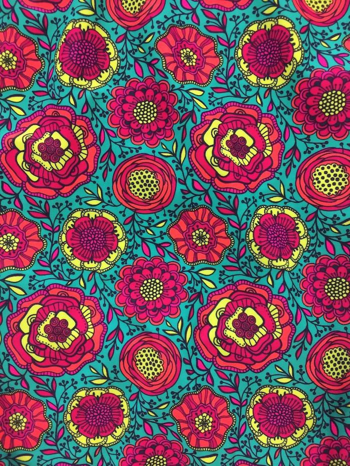 Coloré composition motif de fleur, dessin facile a faire etape par etape, comment apprendre a dessiner facilement