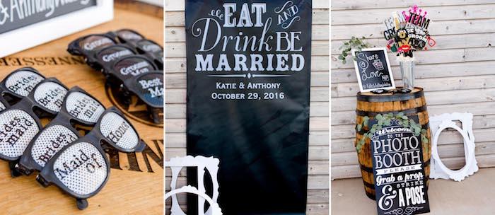 Idée animation mariage originale, idée animation mariage temoin, cool lunettes pour les demoiselles d'honneur et les garcons d honneur, photobooth idée originale