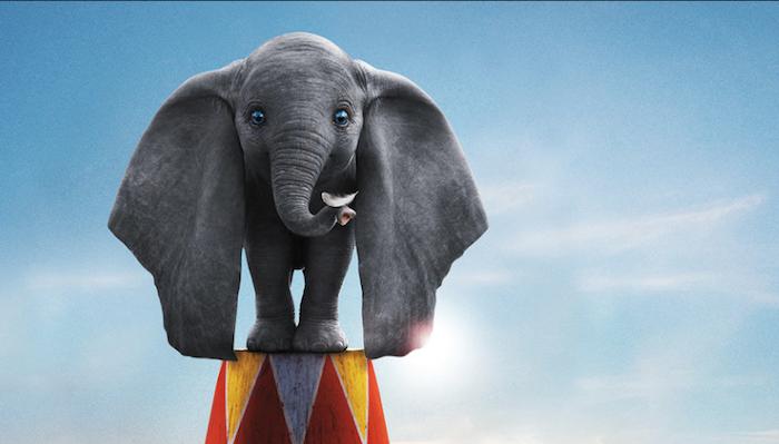 Image du film Dumbo de Tim Burton sorti le 27 mars 2019, remake Disney du classique de 1941
