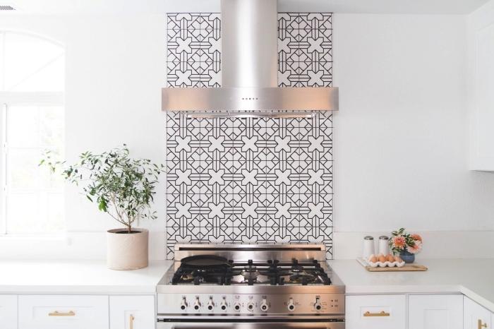 relookez la cuisine avec une cr dence en carreaux de. Black Bedroom Furniture Sets. Home Design Ideas