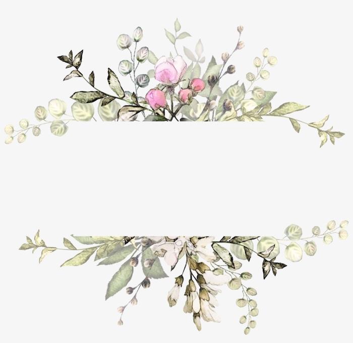 Cadre fleurie cool idée de fleurs dessinées, dessin de fleur dessin facile a reproduire par etape