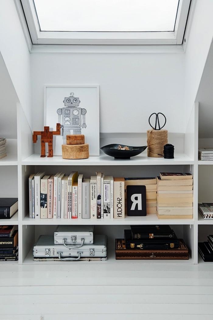 solutions d am nagement sous pente les meilleurs id es. Black Bedroom Furniture Sets. Home Design Ideas