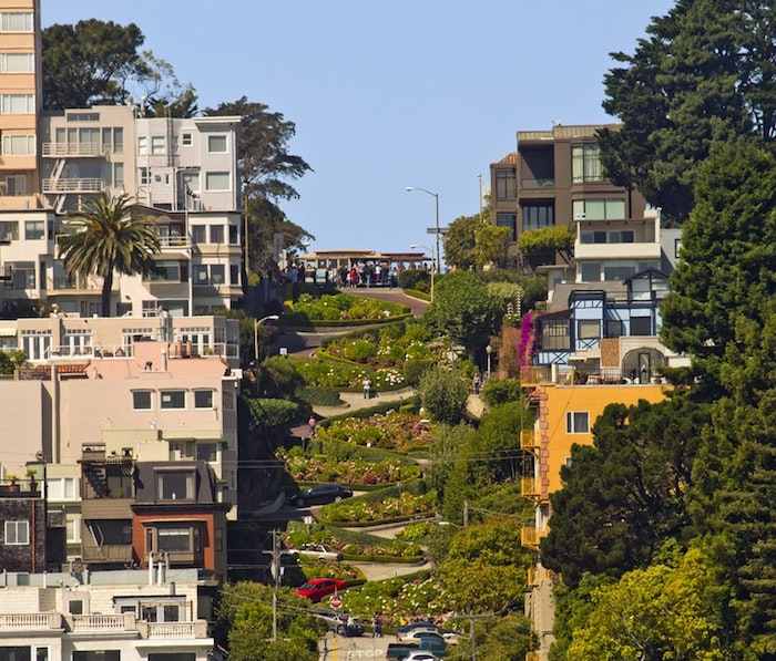 San Francisco California fond d'écran paysage, fond d'écran paysage, la plus belle photo de ville