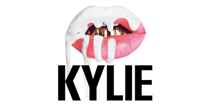 Logo Kylie Cosmetics Kit Lip la marque de cosmétiques de Kylie Jenner qui devient la milliardaire la plus jeune de l histoire à 21 ans