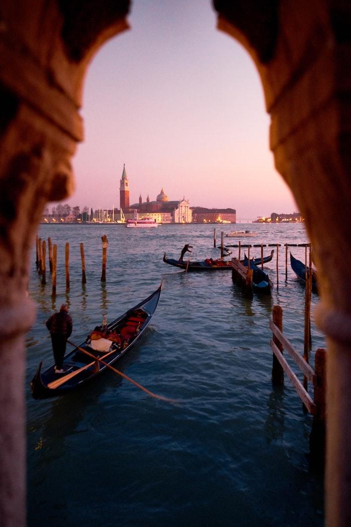 Venise ville de merveilles, paysage urbain mais en endroit historique europe, photographie artiste de grandes villes