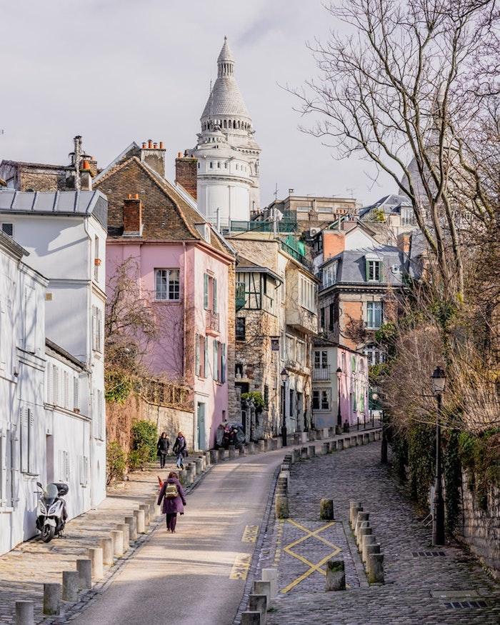 Paris paysage magnifique Montmartre, france paysage, ville paysage, photographie urbaine
