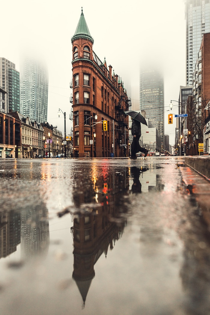 New York en automne, pluie image de paysage, australie paysage, canada paysage, flat iron batiment