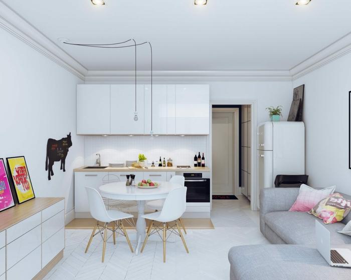 1001   id u00e9es de kitchenette pour studio pratique et belle
