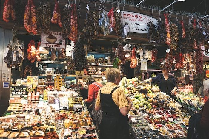 Espagne marché fond d'écran australie paysage, ville, idées en images pour vos voyages legumes et fruits colorés