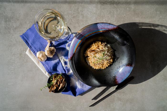 menu vegetarien facile de repas du soir simple et rapide, recette risotto parmesan maison à l italienne