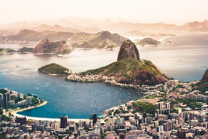 La plus belle ville du monde à cause de sa géographie, location idéale, Rio de Janeiro fond d'écran paysage, fond d'écran paysage, la plus belle photo de ville