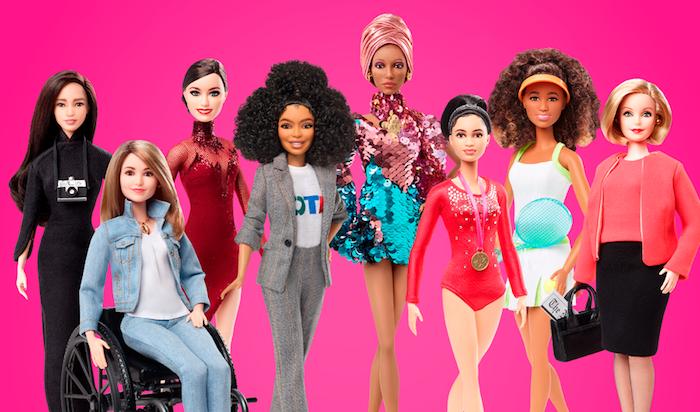 Les poupées de cette année, femmes célébres, modèles pour les petits filles