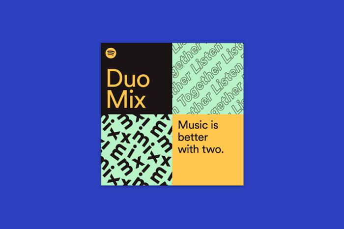 Spotify Premium Duo est la nouvelle offre destinée aux couples pour 12,49 e par mois incluant Duo mix, le partage de playlist
