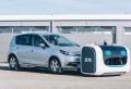 Le robot Stan gare les voitures sur le parking de l'Aéroport de Lyon-Saint-Exupéry