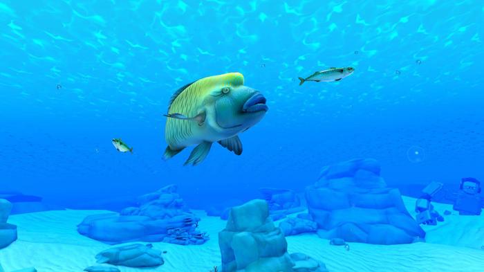 le kit complet VR labo pour Nintendo Switch inclus 64 jeux dont une exploration des mondes sous marins