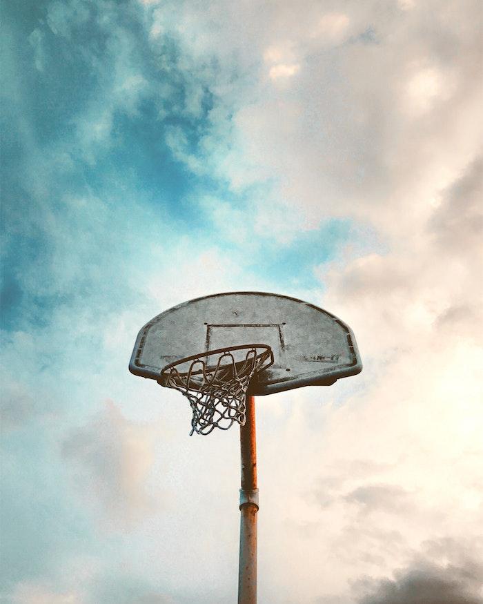 Basketball court image de paysage, australie paysage, canada paysage, fantastiques nuages