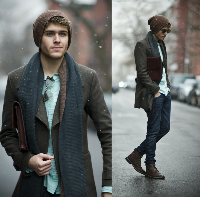▷ 1001 + exemples en photos de tenue hippie chic homme