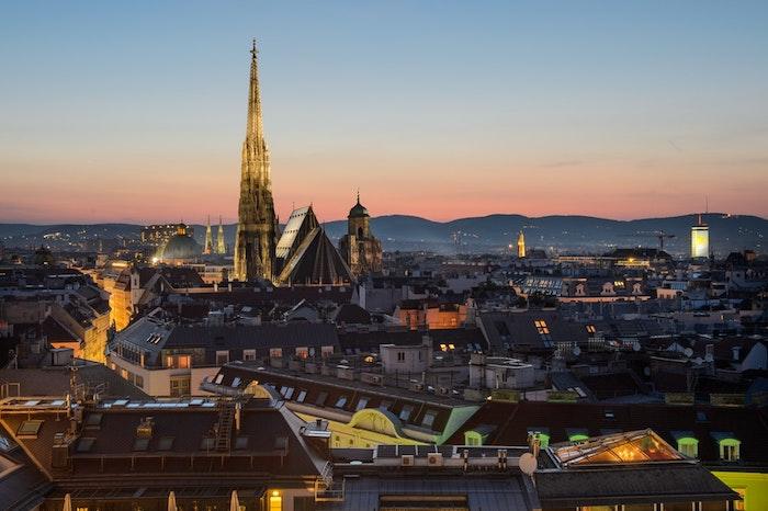 Europe belles vues, Vienne fond ecran paysage de ville, paysage urbain, photo inspiration voyage