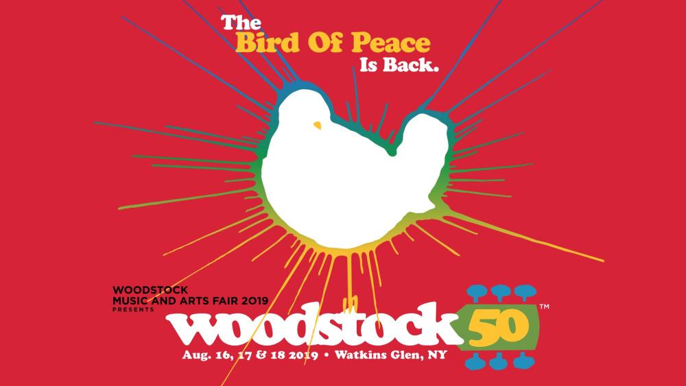 illustration du nouveau Woodstock de 2019 pour fêter les 50 ans du festival de 1969