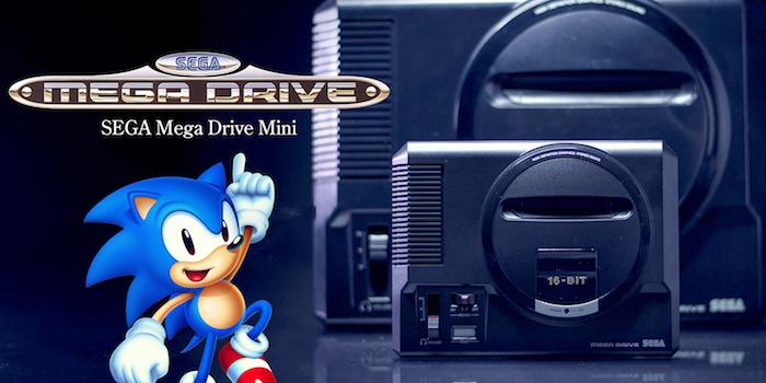 Après Nintendo et Sony, Sega lance une nouvelle version de sa console des années 1009 la MegaDrive Mini