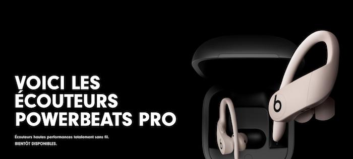 Beat annonce le lancement des nouveaux écouteurs Powerbeats Pro sans fil affichant neuf heures d'autonomie