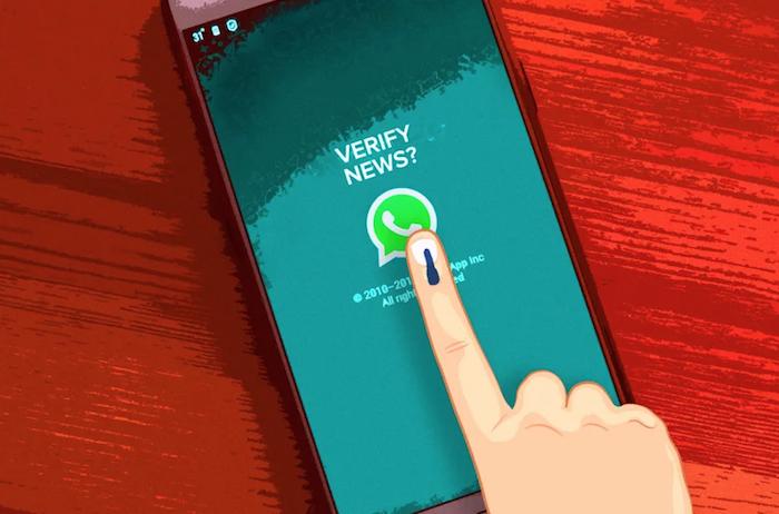WhatsApp lance sa fonction Checkpoint Tipline qui permet de vérifier la véracité d une information diffusée sur l application