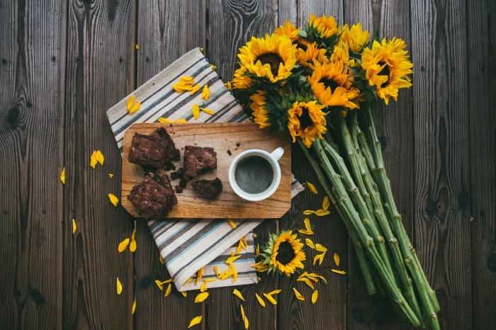 faire de jolies photos de son petit déjeuner, comment prendre photo des objets en avant plan, idée fond d écran cool