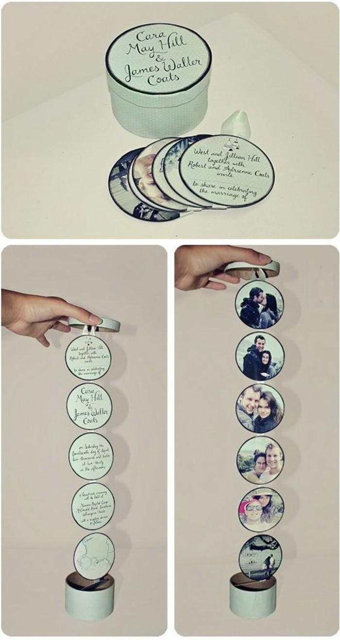 exemple de boîte romantique pop-up avec message d'amour et photos, idée cadeau originale pour la Saint Valentin