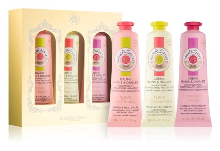 crème soi mains, box cadeau femme de quatre pièces aux composantes naturels, soin mains hydratant et adoucissant
