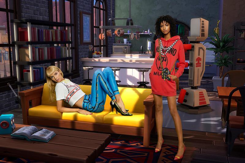 Après Asos, Ces't la marque italienne Moschino qui s'inspire de l'univers du jeu Les Sims