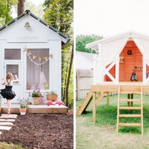 Décorer son jardin avec une cabane en palette ou en bois recyclé