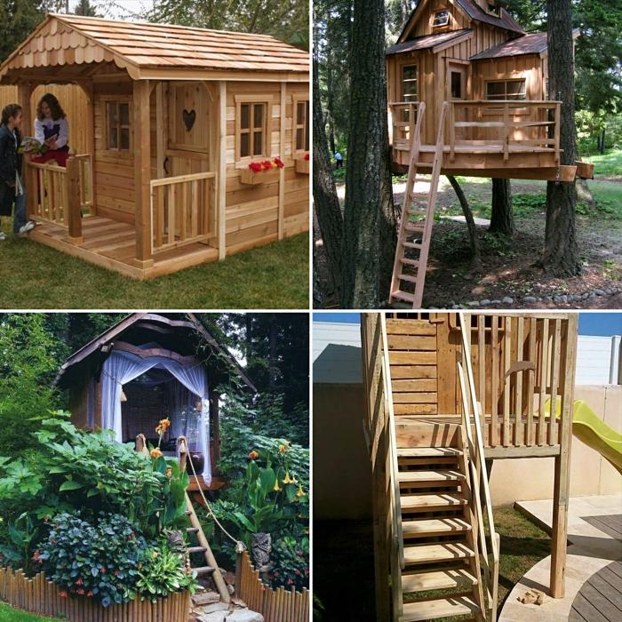 1001 mod les de cabane en palette ou bois fantastiques. Black Bedroom Furniture Sets. Home Design Ideas