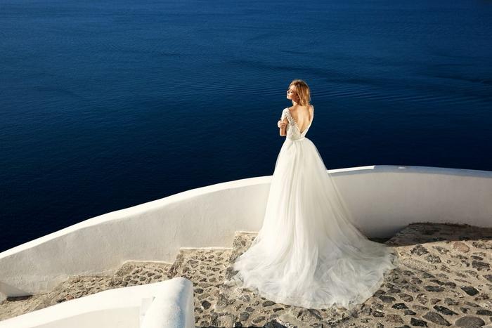 Robe de mariée magnifique princesse, les plus belles robes de mariée, mariage santorin, les actualités chez les robes de mariage