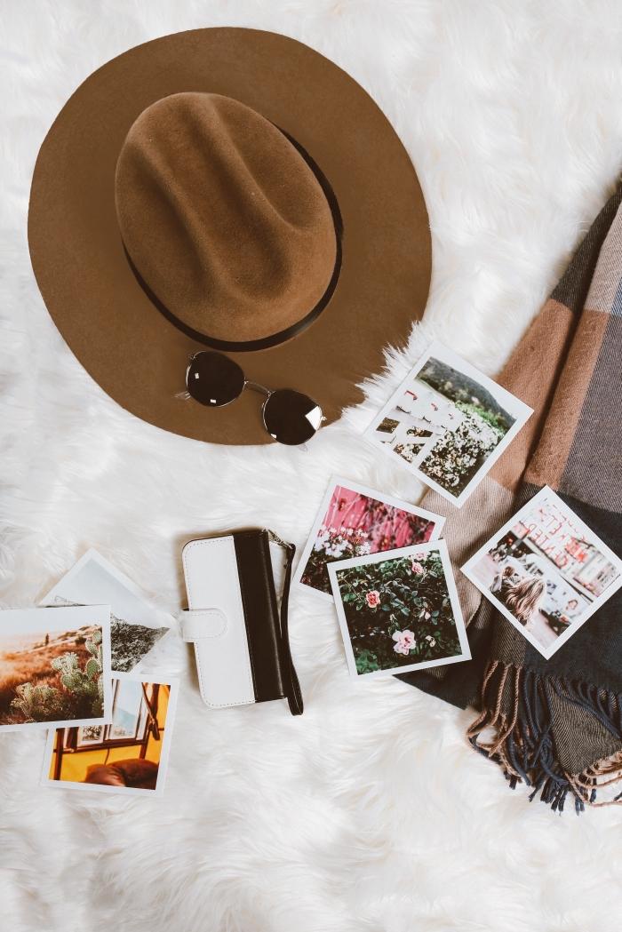 quelle photo pour verrouillage iphone, idée fond d écran gratuit pour femme avec accessoires et photos paysages naturels