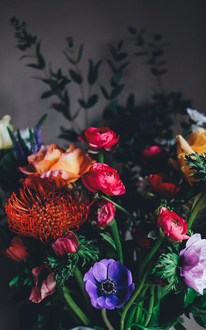 Belle image bouquet de fleurs champêtres, idee fete des meres, photo fete des meres, image fete des meres, photographie fleurs d'été